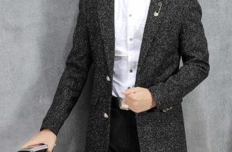 длинный мужской пиджак
