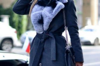 Как создать гармоничный образ с зимним пальто