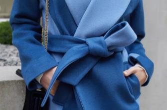 Способы красиво завязать пояс на пальто