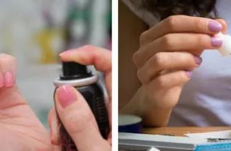 Как быстро высушить лак на ногтях?