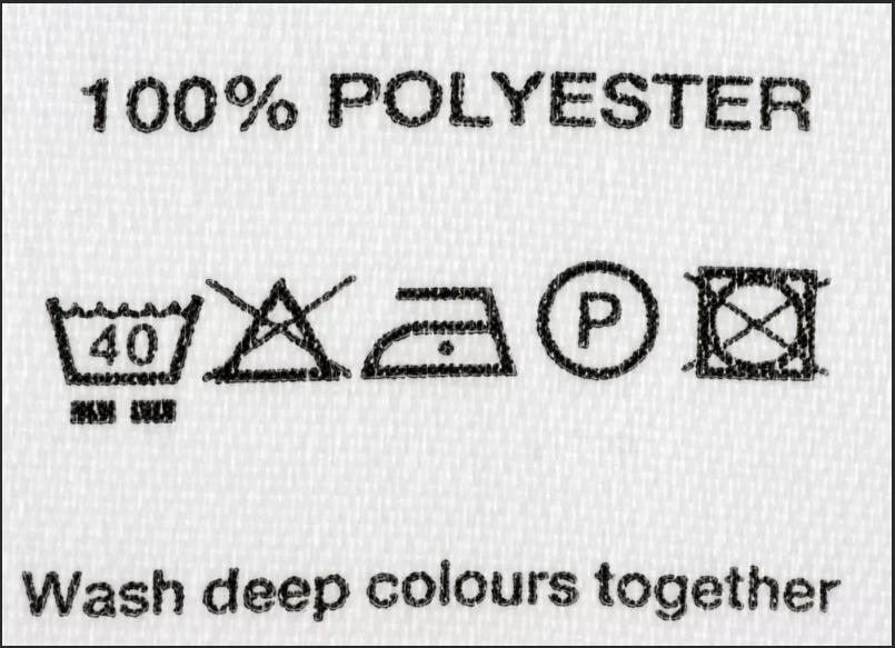 бирка полиэстер