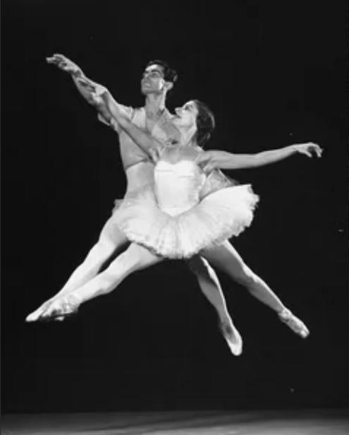 алисия алонсо с партнером в танце