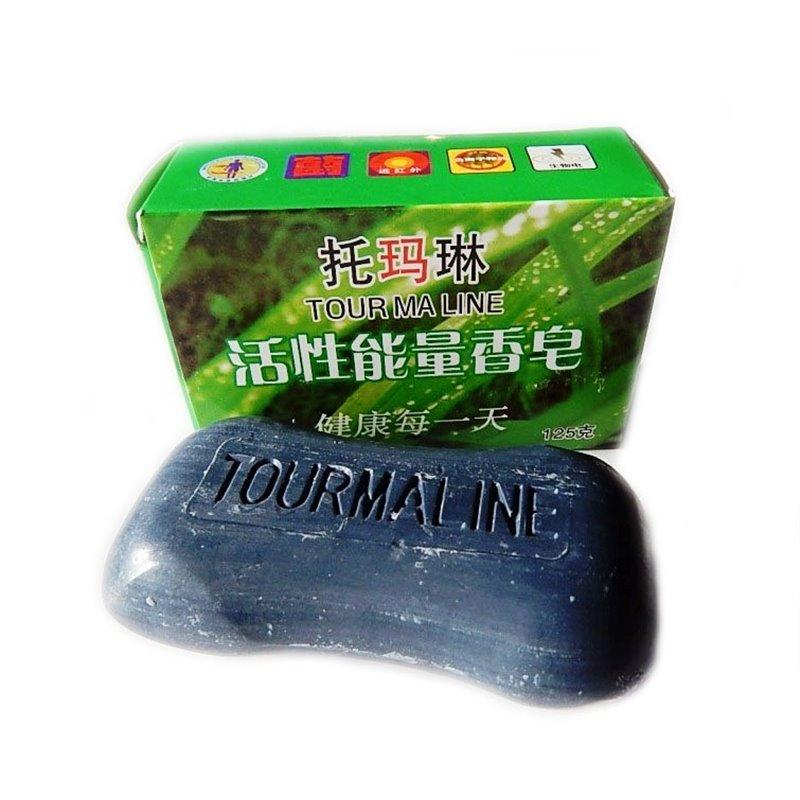 Особенности турмалинового мыла