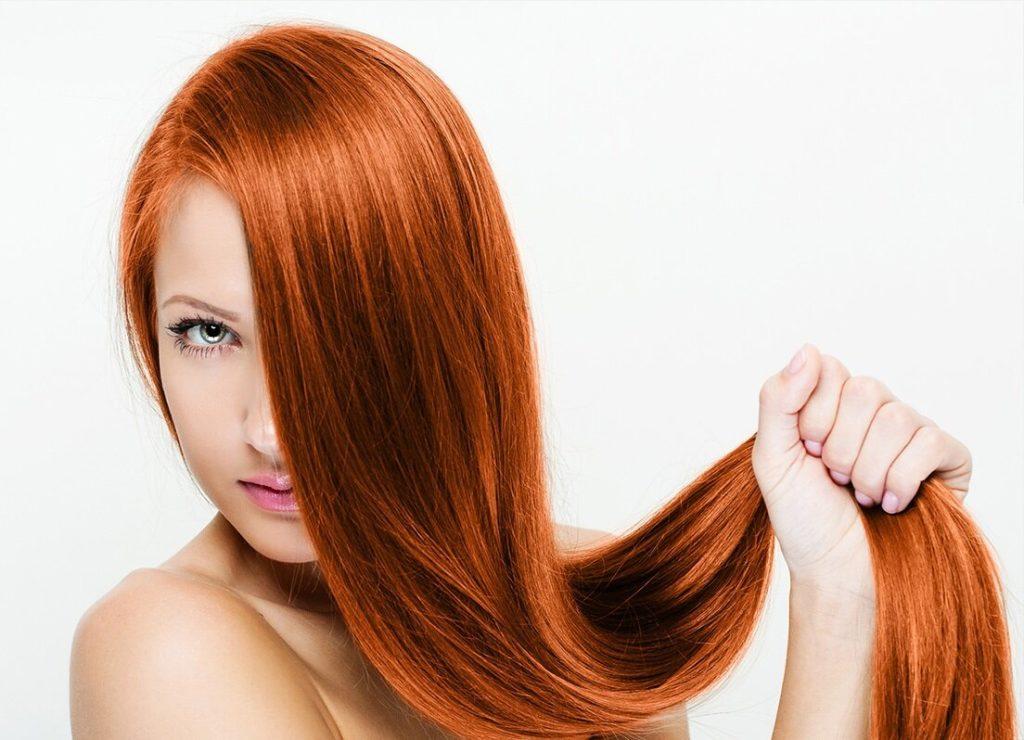 особенности крашеных волос