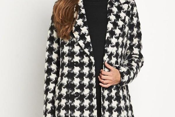 Пальто в «гусиную лапку» — классика в современной интерпретации