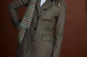 Какой шарф подойдет к серому пальто