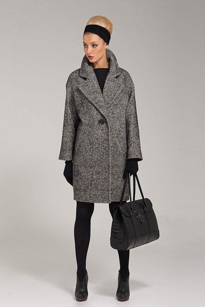 С чем носить пальто в «ёлочку»? обувь