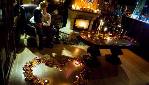 Новый год в постели или как романтично провести праздник