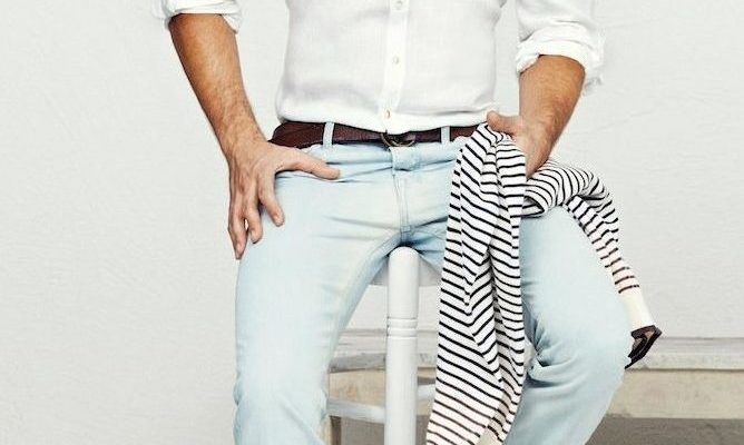 Что такое мужские джинсы скинни?