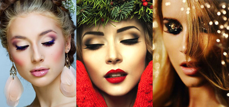 Особенности новогоднего макияжа