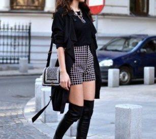 Как правильно носить и сочетать с другой одеждой сапоги-чулки