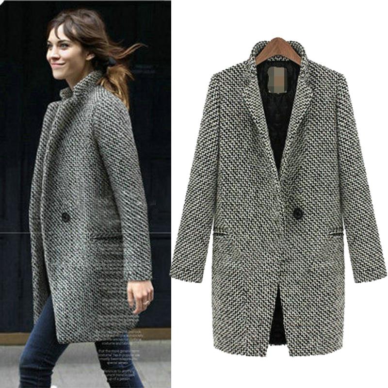 Кому пойдёт пальто с узором в «ёлочку»? советы