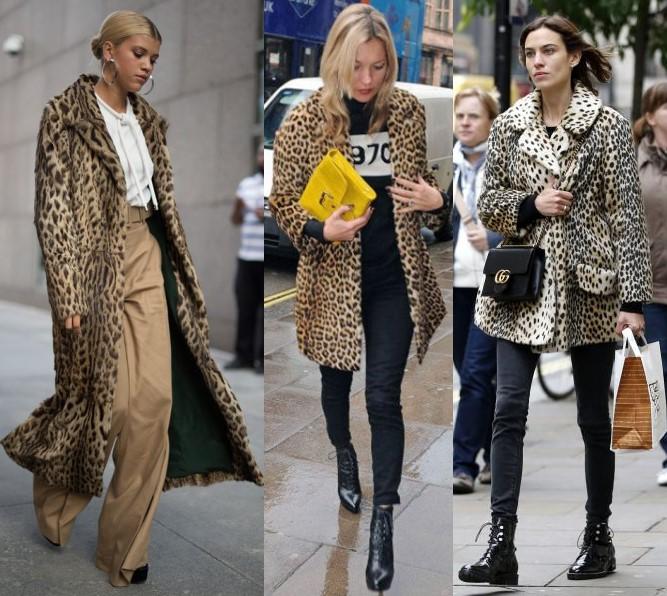 С чем носить шубу «под леопарда»? выбор обуви и аксессуаров