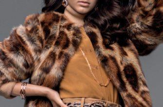 Секреты стильных образов с леопардовой шубой