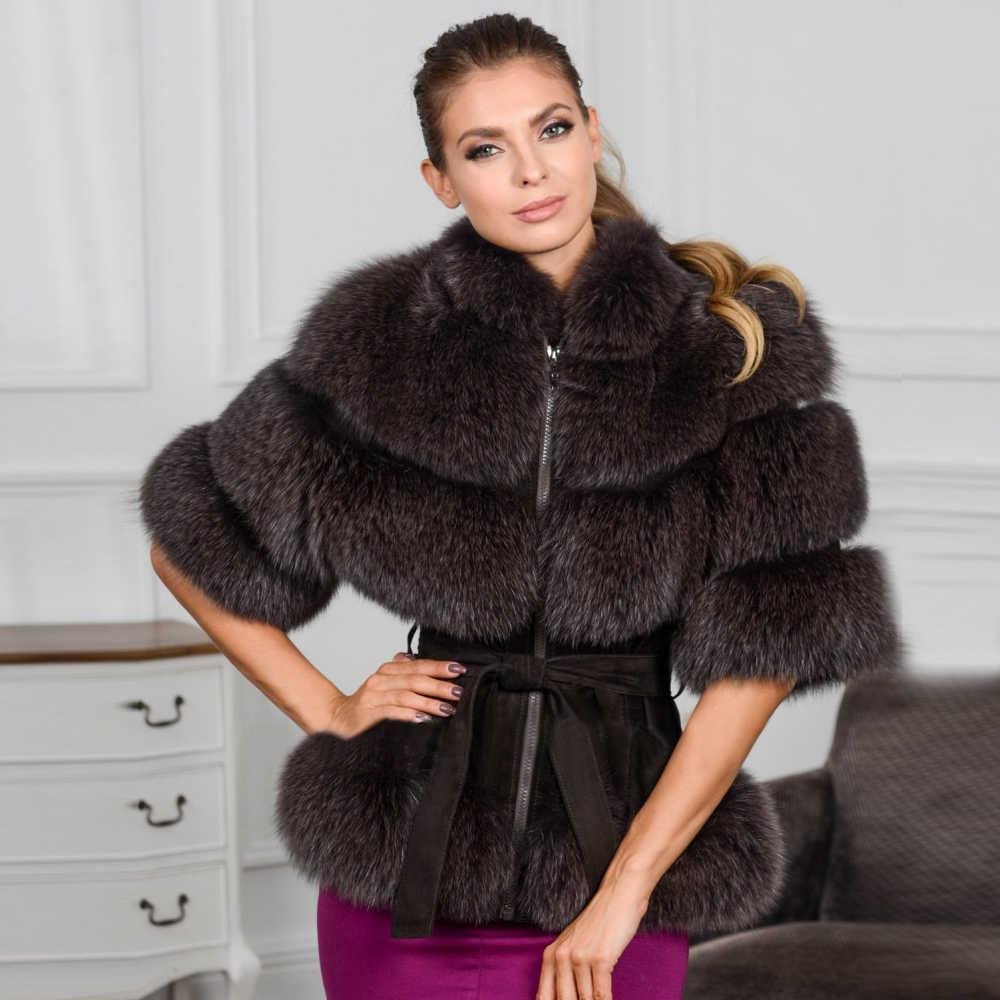 Шубы из какого меха в моде в 2019 году с поясом