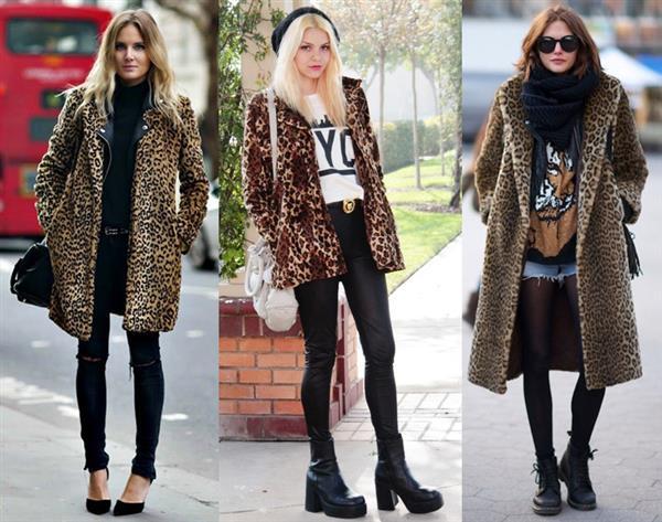 С чем носить шубу «под леопарда»? какой шарф и головной убор