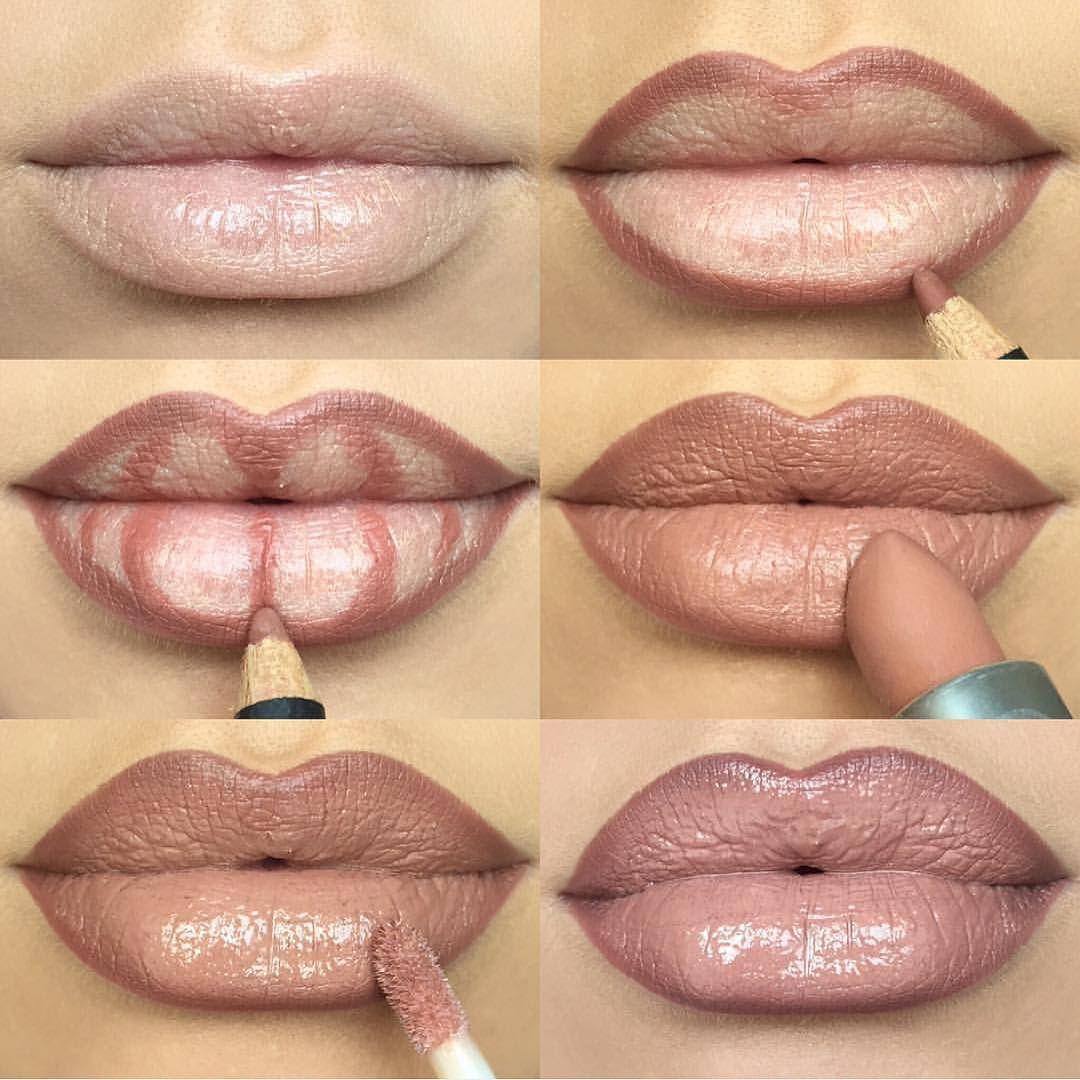 мк по покраске губ