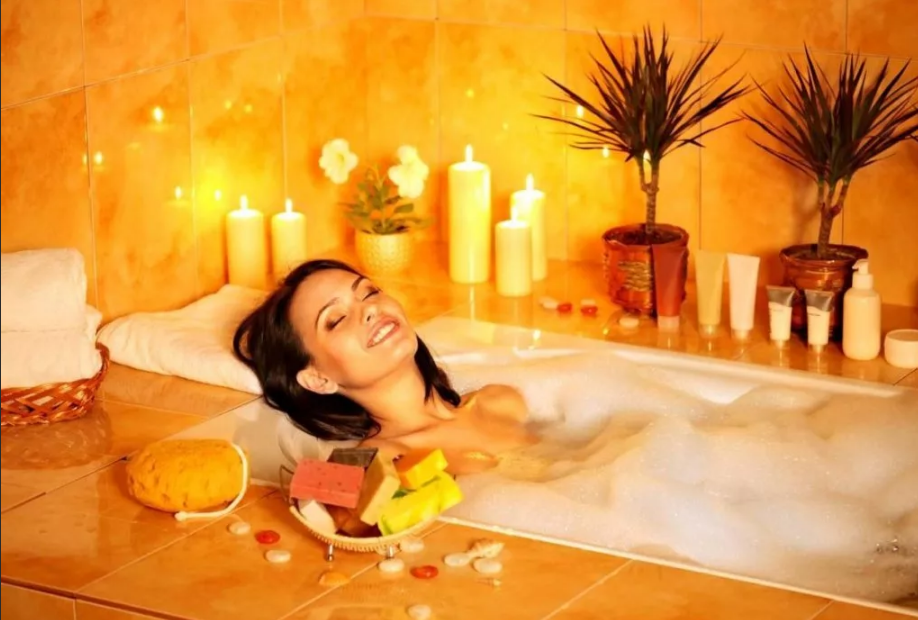 ванна с ароматепией