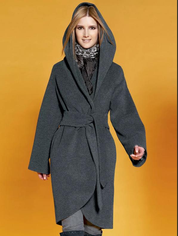Правильные сочетания для пальто с капюшоном