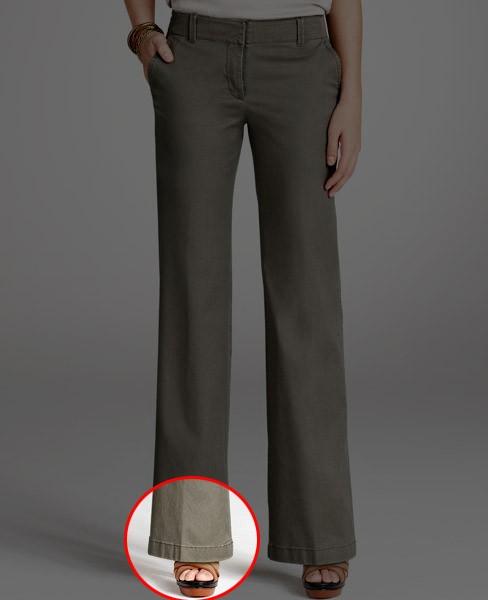 Какой длины должны быть брюки у женщин?