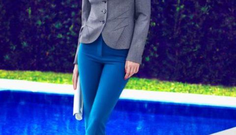 Как подобрать женский пиджак к брюкам