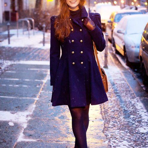 С чем носить зимние ботильоны?