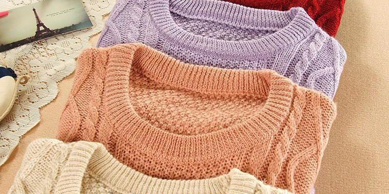 Как можно сложить свитер?