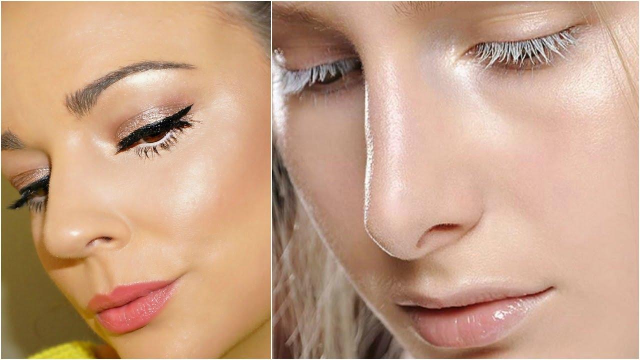 макияж стробинг
