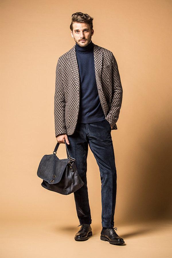 мужские вельветовые брюки сочетание с аксессуарами