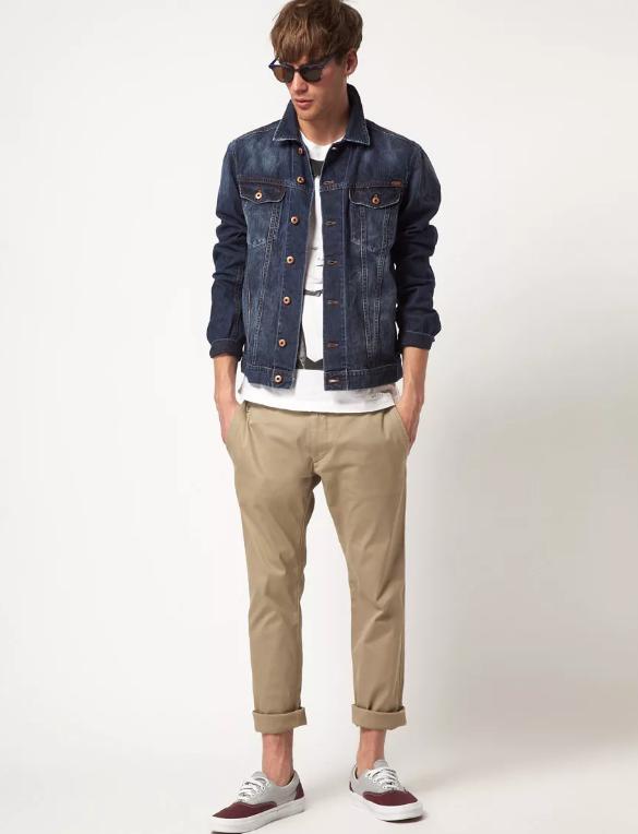 с джинсовкой