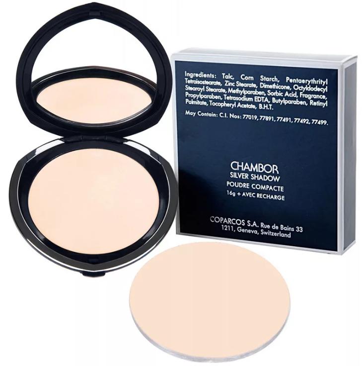 Chambor Silver Shadow Compact Powder