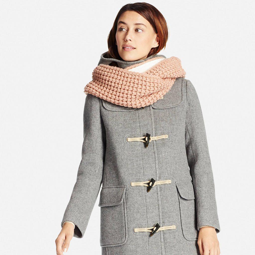 Пальто с капюшоном и шарф: можно ли совместить?