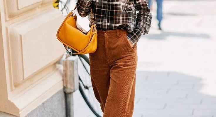 С чем носить вельветовые брюки?