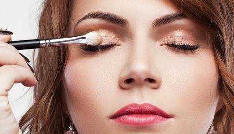 Декоративный макияж глаз пошагово