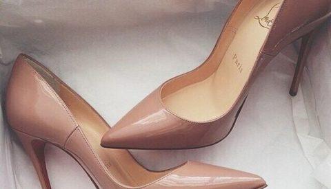 Идеи с чем носить бежевые туфли
