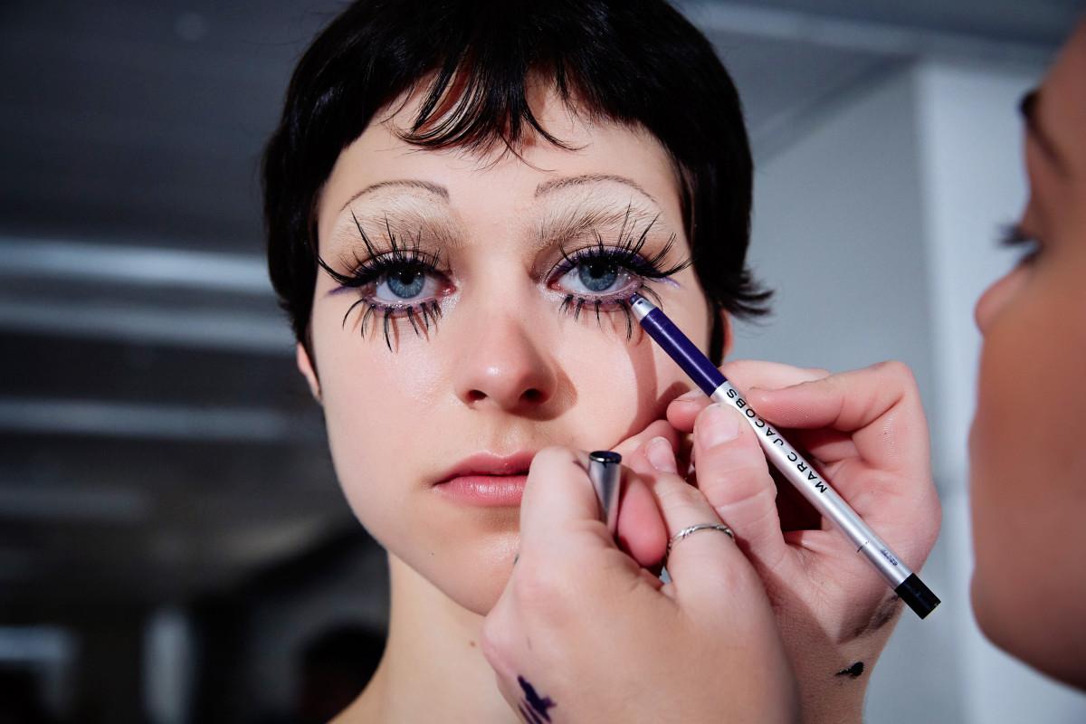макияж в стиле 60-х