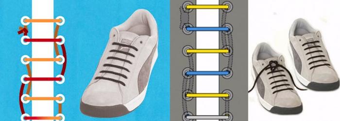 классическая шнуровка