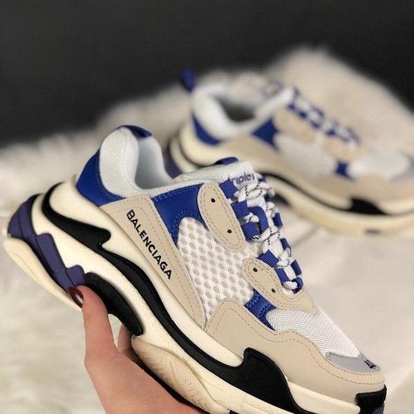 кроссовки с ярким дизайном