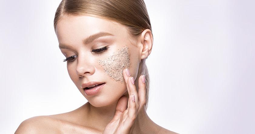 Как правильно пользоваться скрабом для лица?