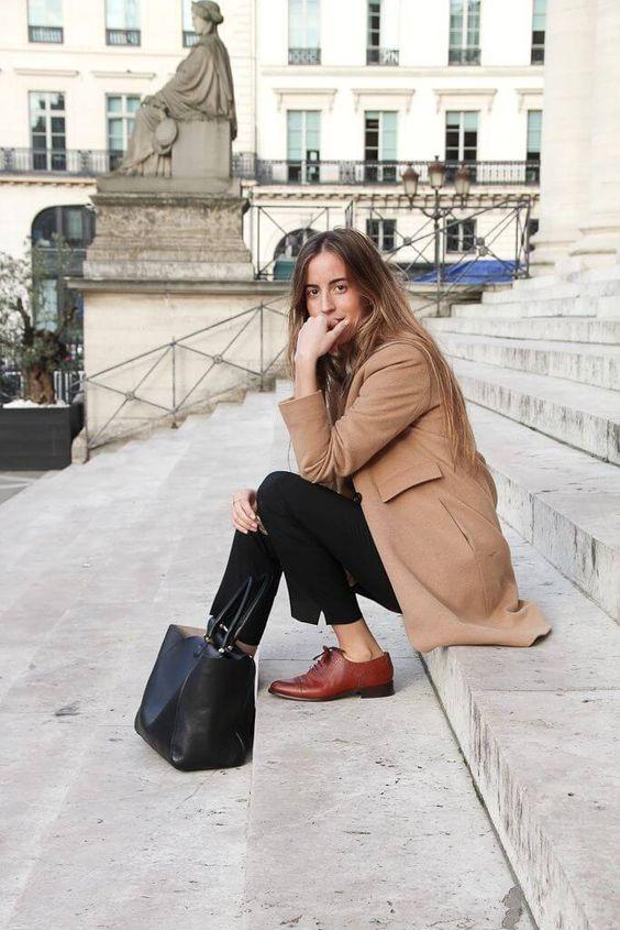 пальто и туфли