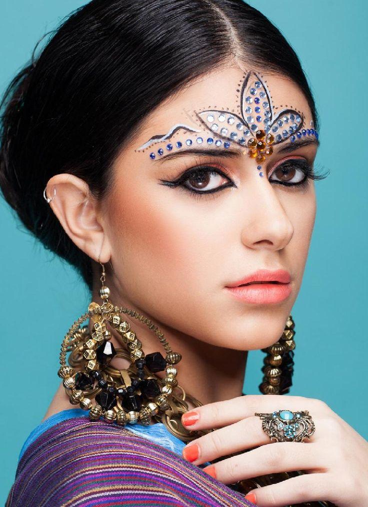 этнический макияж