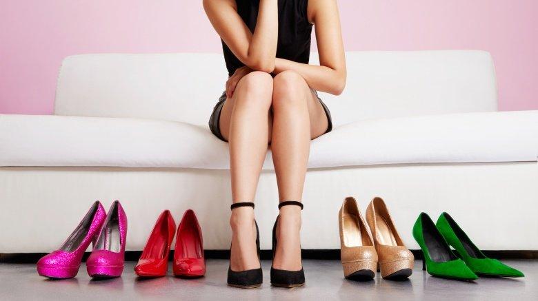 подбор туфель к платью