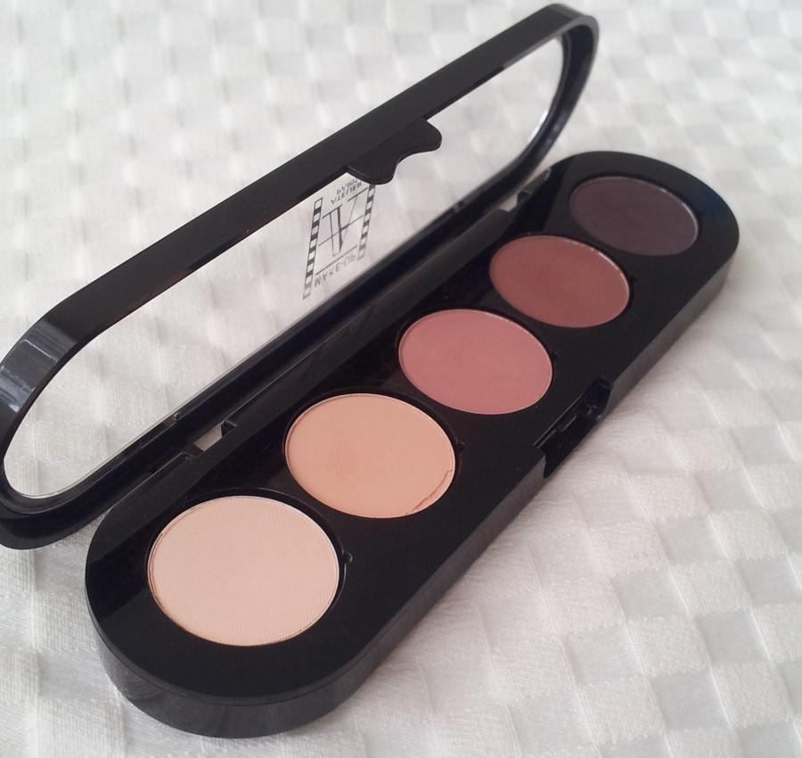 Тени Make-up Atelier Paris 5 Eyeshadows Palette