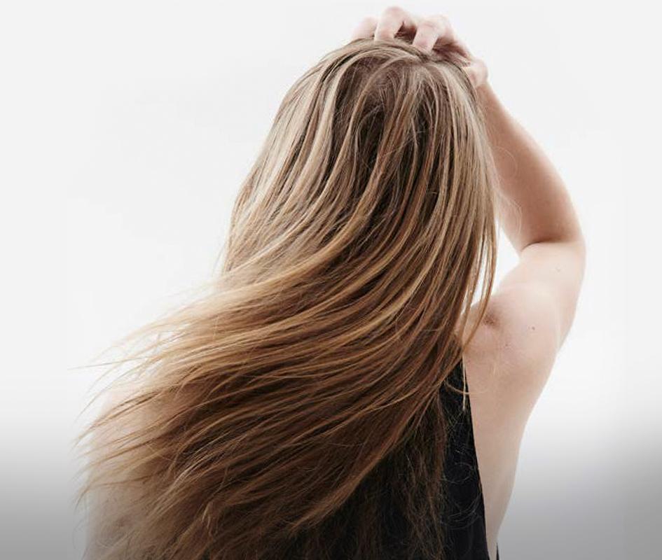 Волосы после использования скраба