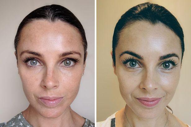 Ламинирование бровей фото до и после