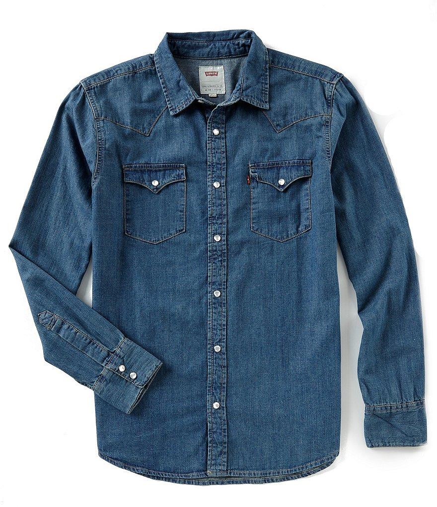 Рубашка из денима марки Levi's