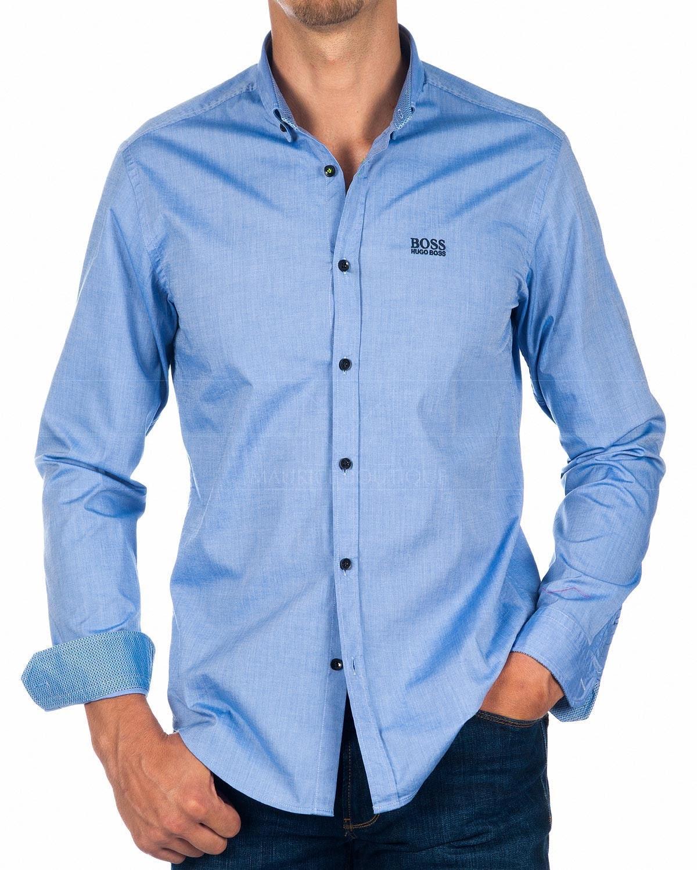 Классическая рубашка марки HUGO BOSS