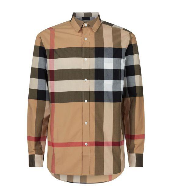 Классическая рубашка марки Burberry