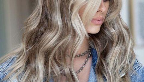 Колорирование натуральных русых волос