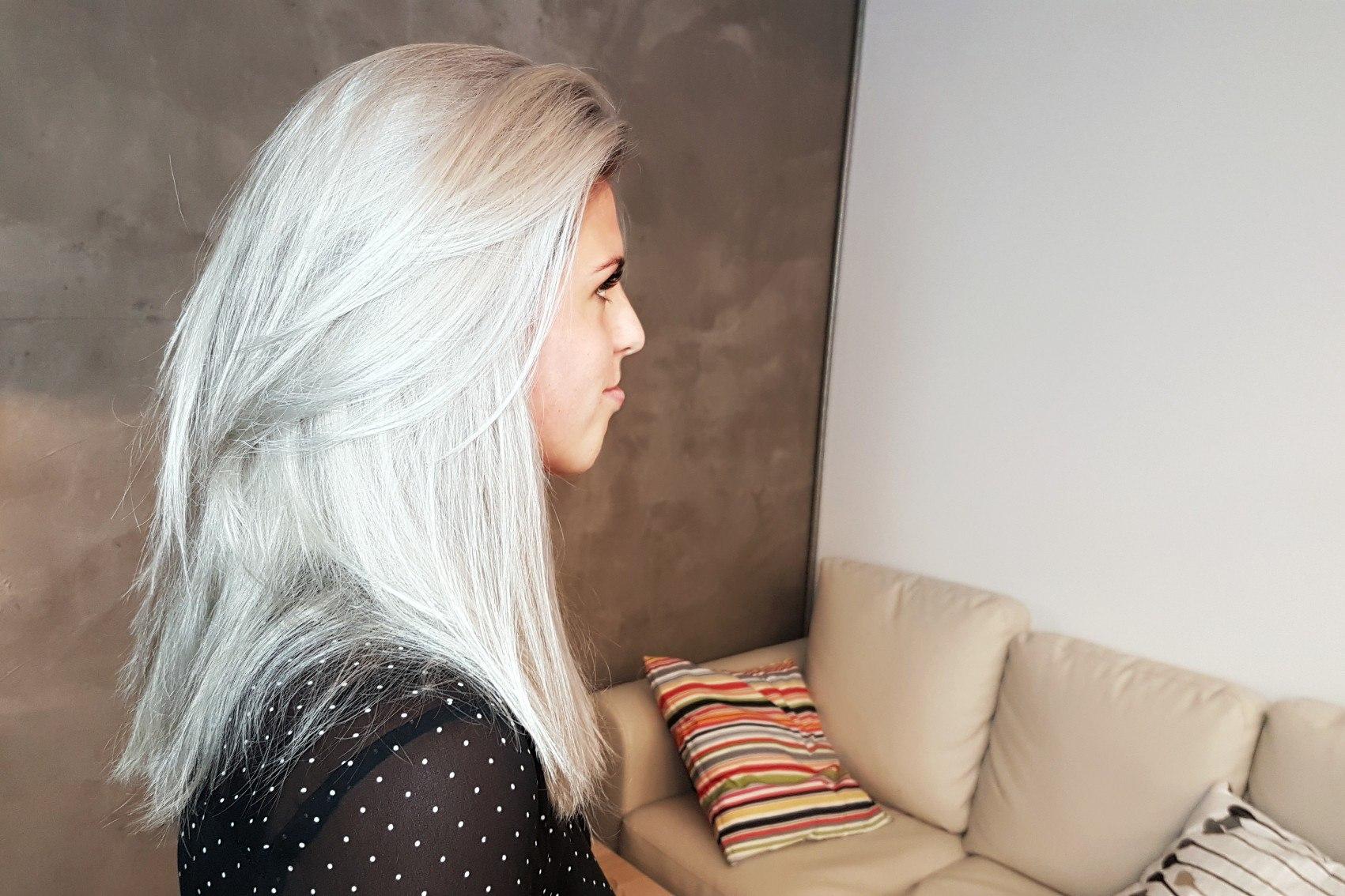 тонирование волос процедура